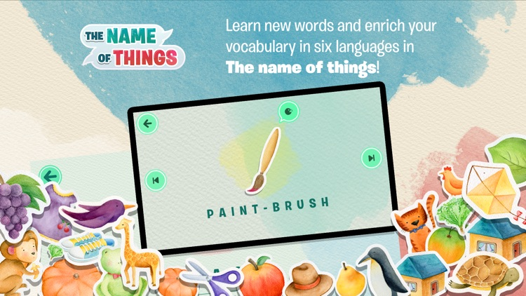 The Name of Things – Learn new words for kids