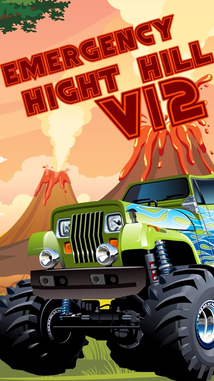 monster truck climb : free car racing games screenshot-0