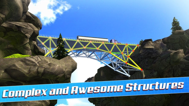 Bridge Construction Simulator 3D a Real City Building Physics Sim screenshot-3