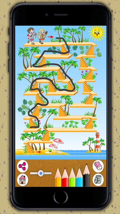 Mazes for kids - Puzzle game for children 3 to 8 years old screenshot-4