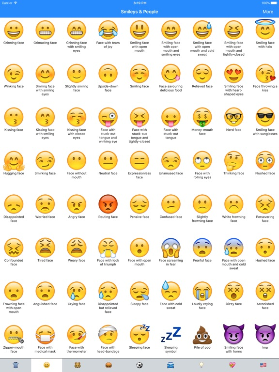 emoji meanings dictionary list app price drops