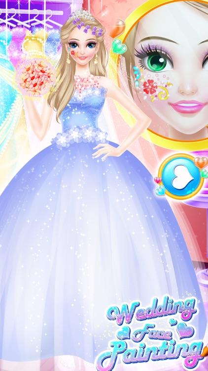 Wedding Face Painting Makeup For Elsa screenshot-4