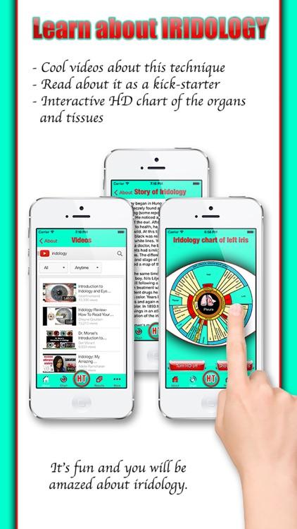 Health Test - The iridology app screenshot-3