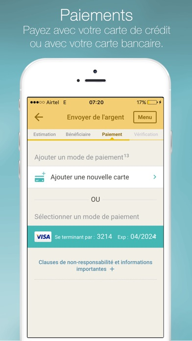 download Western Union Envoi d'argent apps 4