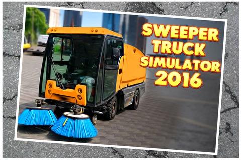 Sweeper Truck Simulator 2016 - náhled