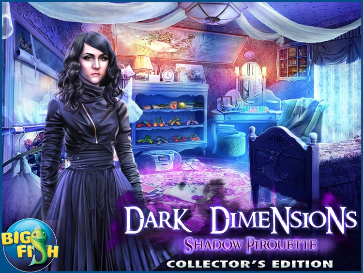 Dark Dimensions: Shadow Pirouette HD - A Scary Hidden Object Game (Full) screenshot-4