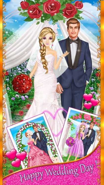 My Dream Wedding Day - Girls Makeup, Makeover & Dressup Salon screenshot-3