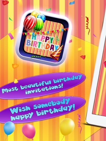 Screenshot 1 For Happy Birthday Card Creator Best Greeting ECards And Invitation