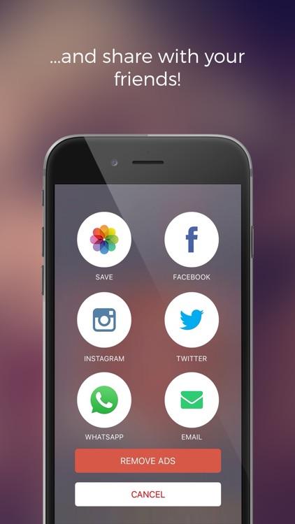 BlendShop - blend photos for instagram & facebook screenshot-4