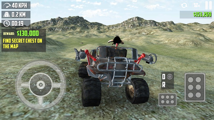 Offroad 4x4 Simulator Real 3D, Multi level offroading experience by driving jeep and truck screenshot-3