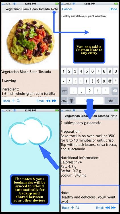 500 Low Fat Recipes screenshot-4