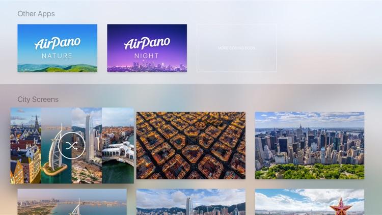 AirPano City – Aerial Screensavers