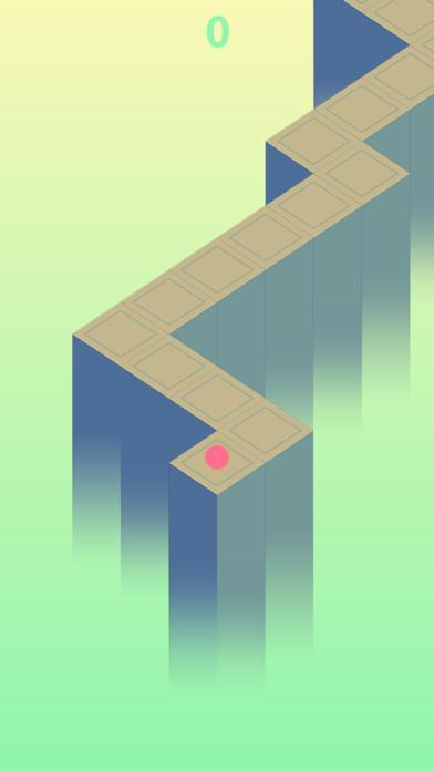 Zig Zag Way - Endless Wall, God Road screenshot two