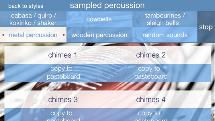 Percussion Loops HD screenshot-4