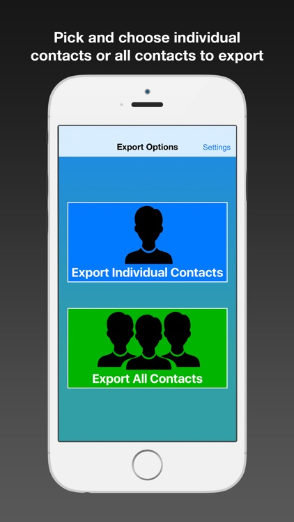 Contacts to CSV - Export your Phone Contacts screenshot-0