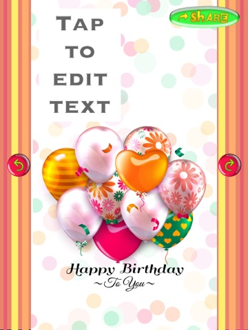 Happy birthday card creator best greeting erds and invitations cards and invitation screenshot 5 for happy birthday card creator best greeting e m4hsunfo