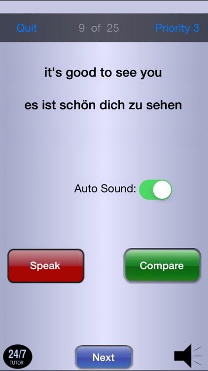 German Phrases 24/7 Language Learning screenshot-4