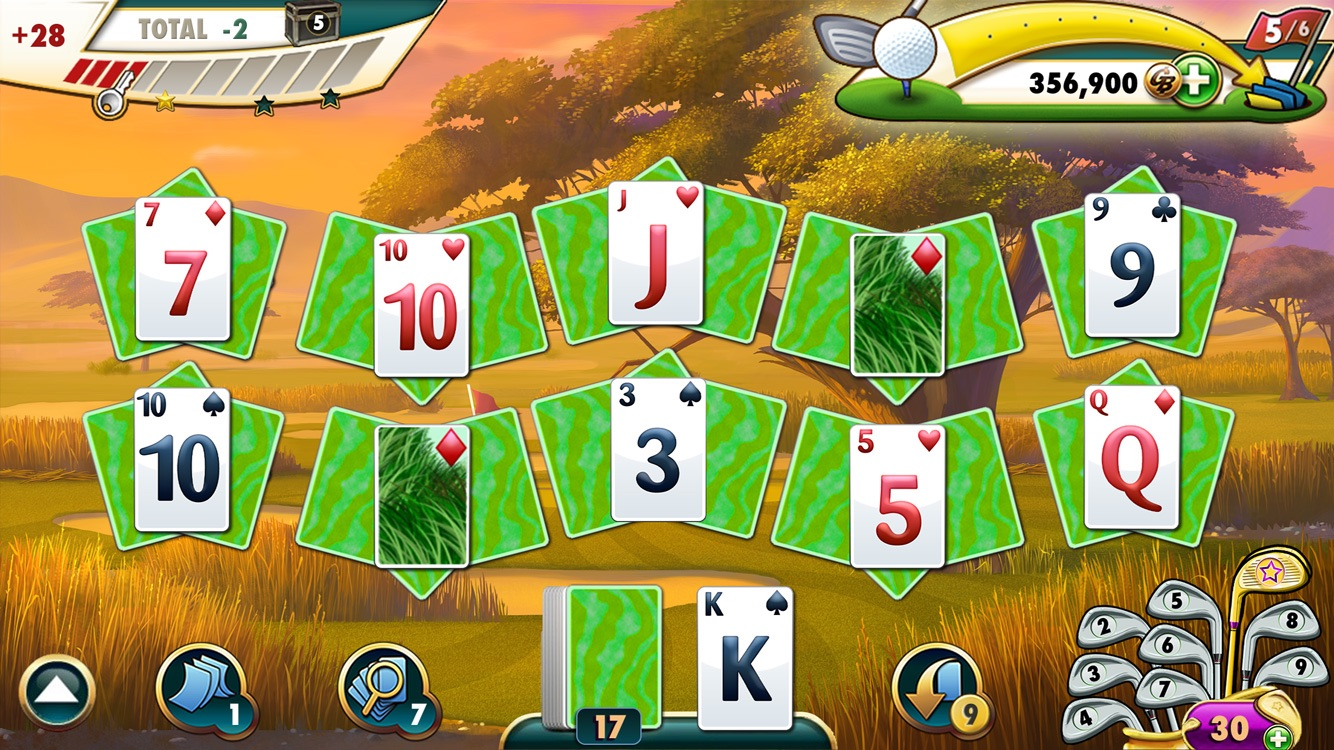 Fairway solitaire by big fish games inc for Big fish games inc