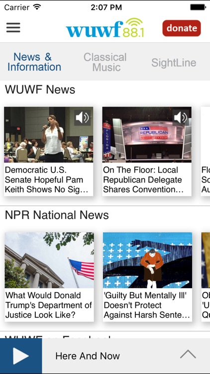 WUWF Public Radio App screenshot-1