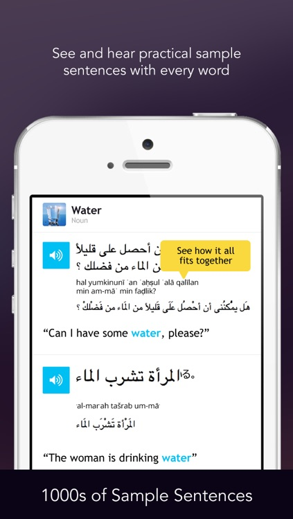 Learn Arabic - WordPower screenshot-3