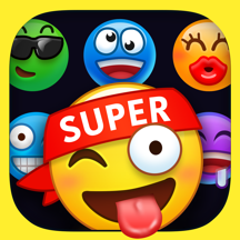 Supermoji - Extra Big Emojis and 3D Animated Emoticons