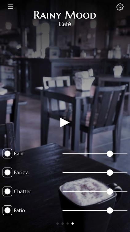 Rainy Mood - Rain Sounds for Sleep & Study screenshot-3
