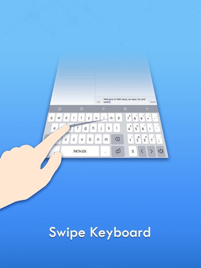 Path Input - Скользящая клавиатура Screenshot