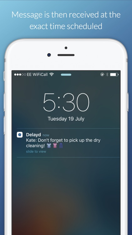 Delayd: Schedule Messages to Send in the Future screenshot-3
