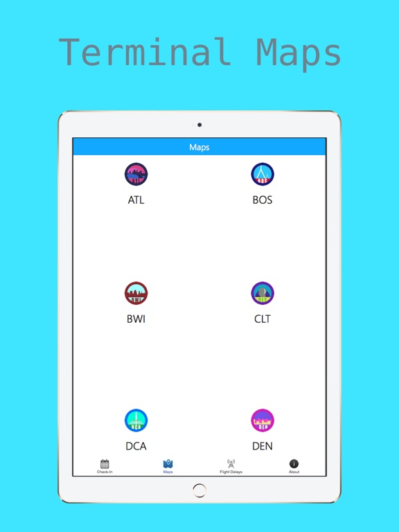 Airport Information - Check-In + Flight Delays + Terminal Maps screenshot