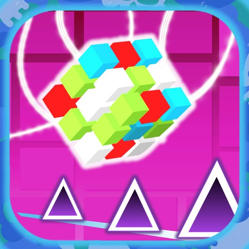 Fast Geometry With Magic Cube - Extreme Jumping Game Geometry