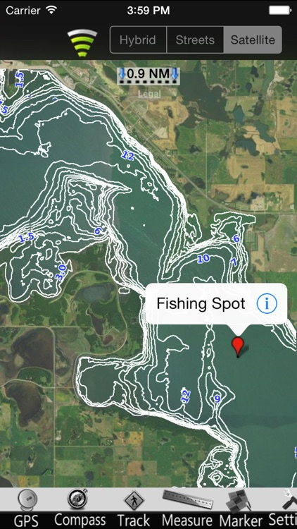 North Dakota Lakes GPS Nautical charts screenshot-3