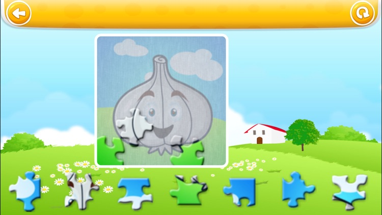 Veggies & Fruits HD : Learning, colouring and educational games for kids and toddlers! screenshot-4