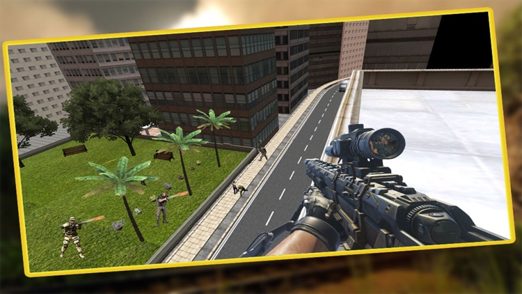 Army Sniper Commando Assassin : Combat Terrorist Shooter