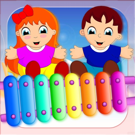 Kids Musical: Xylophone, Piano and Drum iOS App