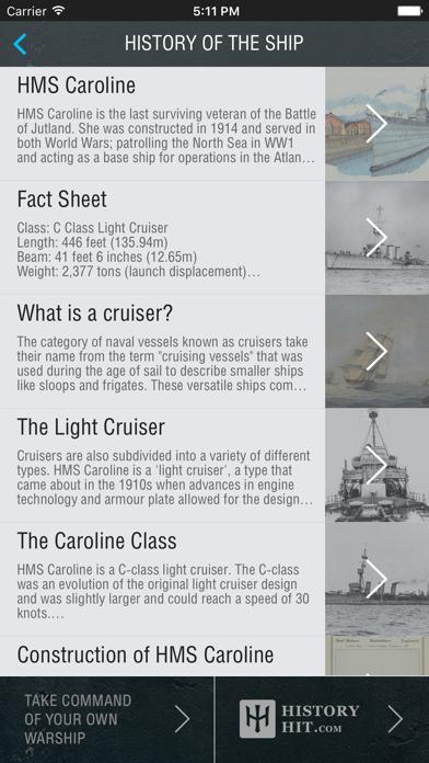 HMS Caroline AR Experience - National Museum of the Royal Navyのおすすめ画像3