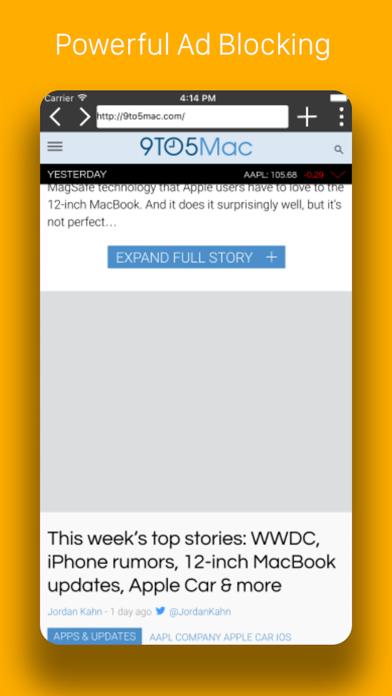Pegasus Browser - Ad Blocker by Himanshu Minocha (iOS, United States