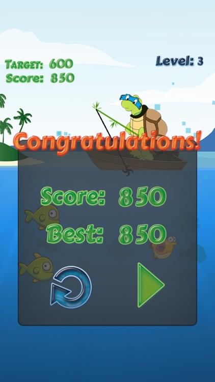 Turtle Fishing Catch a Big Fish in Deep Sea screenshot-3