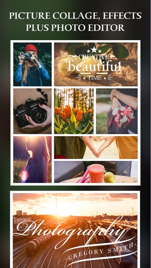 Simple Collage Pro - photo frame and PIP collage maker Screenshot