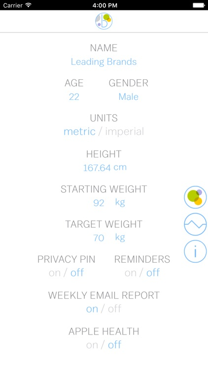 BodyLite: Personal Weight Tracker screenshot-1