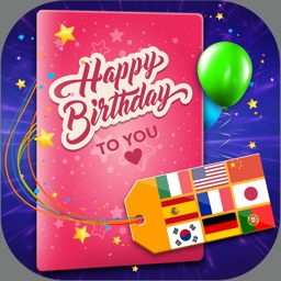Birthday Cards Multilingual – Free e-Card Creator To Wish Happy B'day In All Language.s