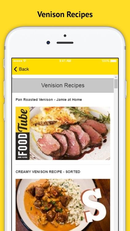Venison Recipes - Hunters Love This Delicious Recipe screenshot-3