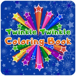 Twinkle Twinkle Little Star - Sparkles Coloring Book For Kids