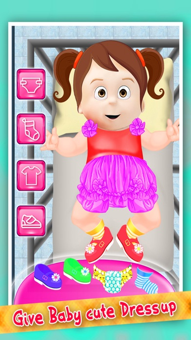 My New Sweet Little Baby Care screenshot three