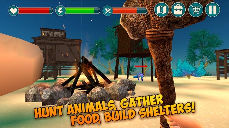 Pixel Tropical Island Survival 3D