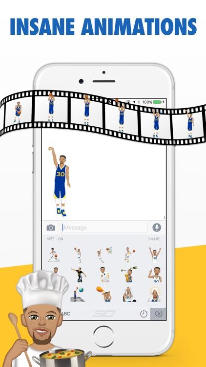 StephMoji by Steph Curry screenshot-3