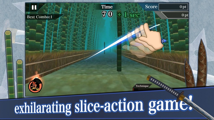 "Samurai Sword ""Slashing Action"" screenshot-0"
