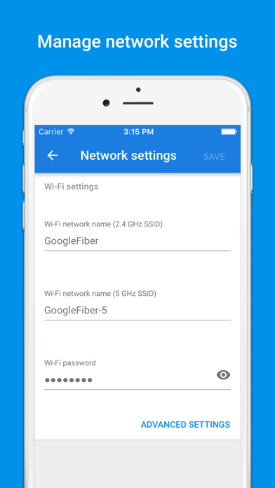 Google Fiber - network and account manager-2