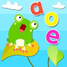 宝宝学语文拼音字母和汉字认识-学拼音-快乐早教-轻松完成幼小衔接