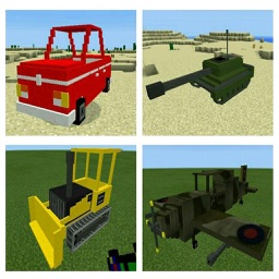 Weapon and Vehicle Mods for Minecraft PC