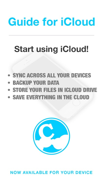 Guide for iCloud & iCloud Drive - Backup & Restore your Photos